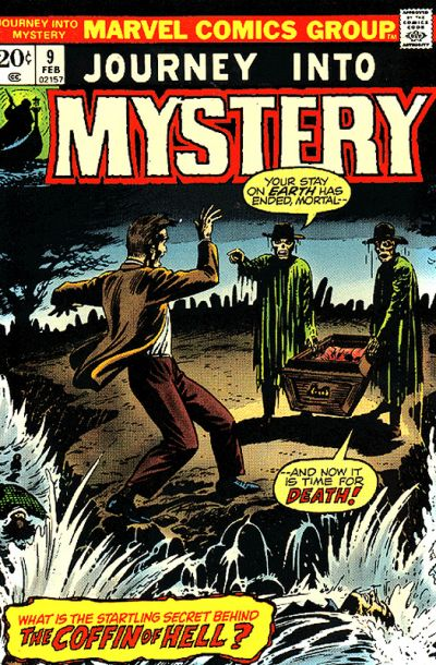 Cover for Journey into Mystery (Marvel, 1972 series) #9