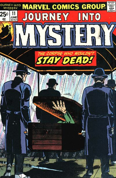 Cover for Journey into Mystery (Marvel, 1972 series) #11
