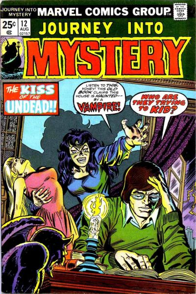 Cover for Journey into Mystery (Marvel, 1972 series) #12