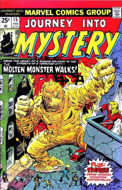 Cover for Journey into Mystery (Marvel, 1972 series) #15