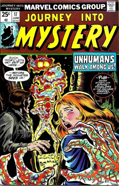 Cover for Journey into Mystery (Marvel, 1972 series) #17