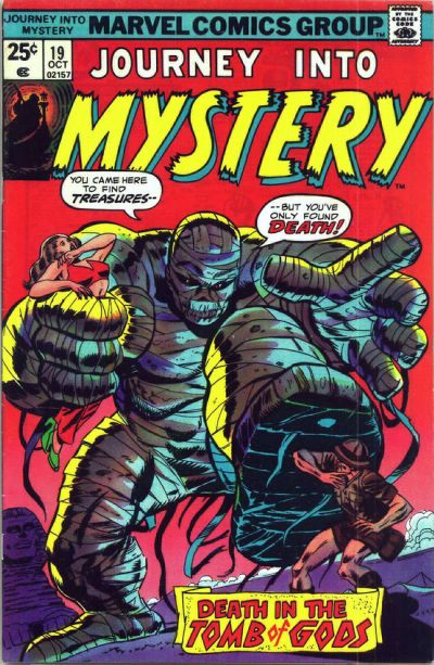 Cover for Journey into Mystery (Marvel, 1972 series) #19
