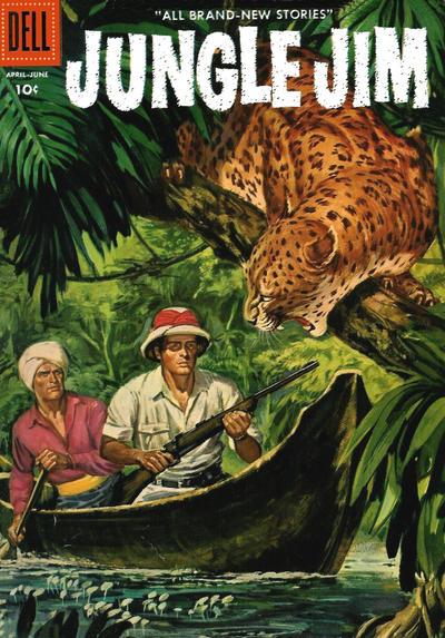 Cover for Jungle Jim (Dell, 1954 series) #8