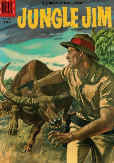 Cover for Jungle Jim (Dell, 1954 series) #10