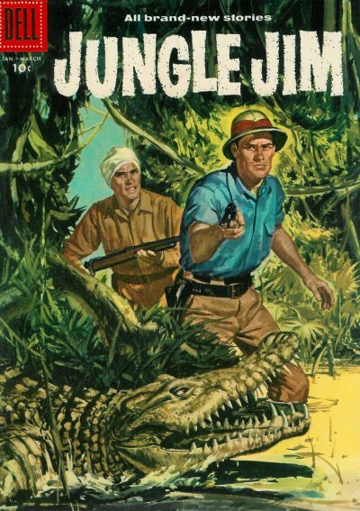 Cover for Jungle Jim (Dell, 1954 series) #11