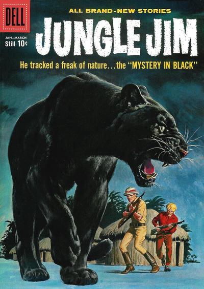 Cover for Jungle Jim (Dell, 1954 series) #19