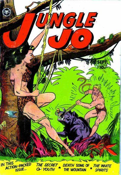 Cover for Jungle Jo (Fox, 1950 series) #3
