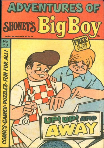 Cover for Adventures of Big Boy (Paragon Products, 1976 series) #50