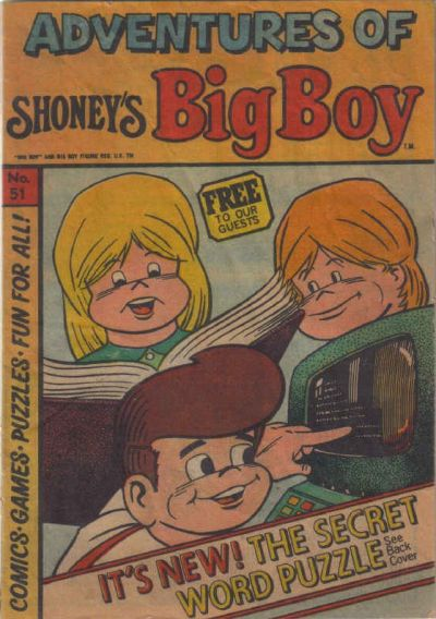 Cover for Adventures of Big Boy (Paragon Products, 1976 series) #51