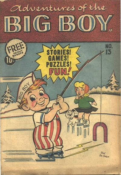 Cover for Adventures of the Big Boy (Webs Adventure Corporation, 1957 series) #13 [East]
