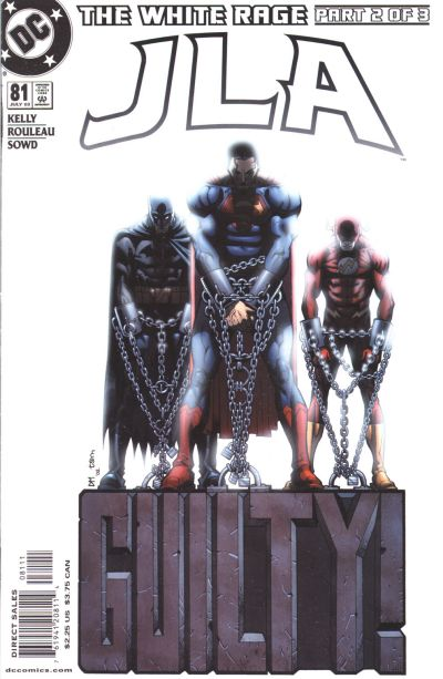 Cover for JLA (DC, 1997 series) #81