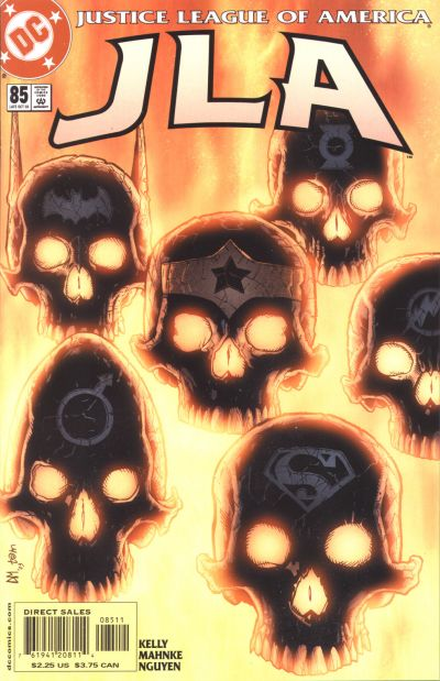 Cover for JLA (DC, 1997 series) #85