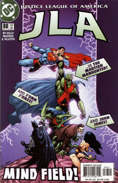 Cover for JLA (DC, 1997 series) #88