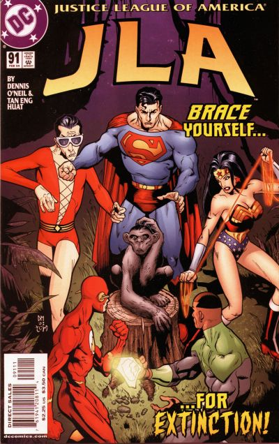 Cover for JLA (DC, 1997 series) #91