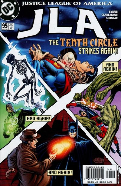 Cover for JLA (DC, 1997 series) #95