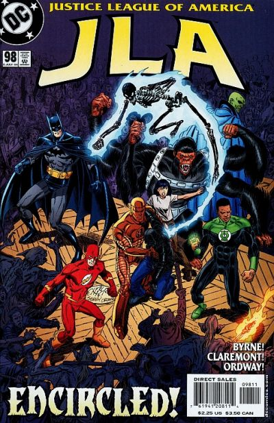 Cover for JLA (DC, 1997 series) #98