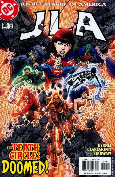Cover for JLA (DC, 1997 series) #99