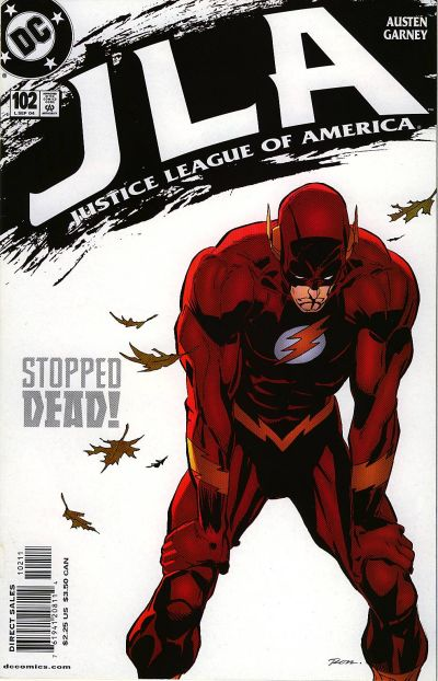 Cover for JLA (DC, 1997 series) #102
