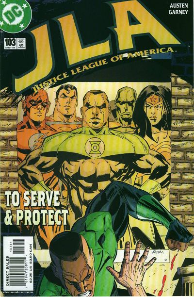 Cover for JLA (DC, 1997 series) #103