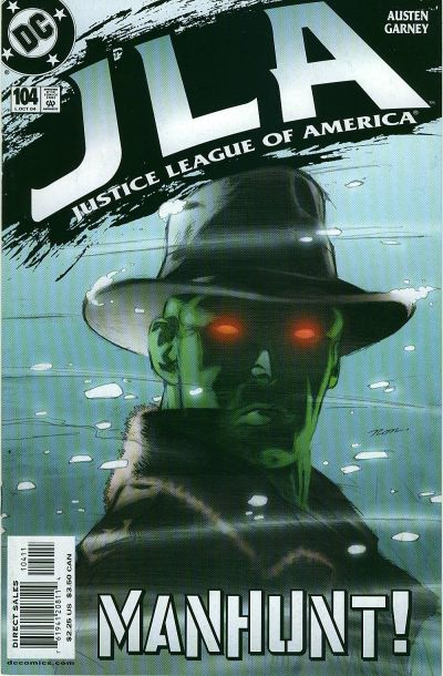 Cover for JLA (DC, 1997 series) #104