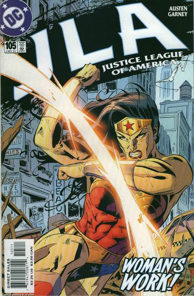 Cover for JLA (DC, 1997 series) #105