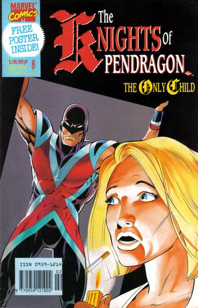 Cover for The Knights of Pendragon (Marvel UK, 1990 series) #8