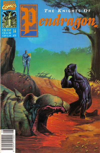 Cover for The Knights of Pendragon (Marvel UK, 1990 series) #14