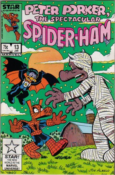 Cover for Peter Porker, the Spectacular Spider-Ham (Marvel, 1985 series) #13