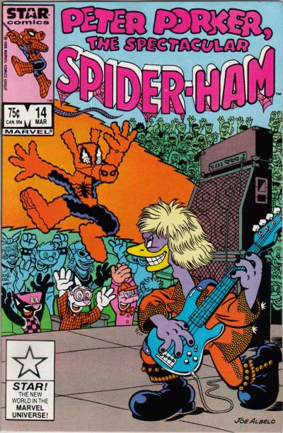 Cover for Peter Porker, the Spectacular Spider-Ham (Marvel, 1985 series) #14