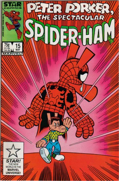 Cover for Peter Porker, the Spectacular Spider-Ham (Marvel, 1985 series) #15