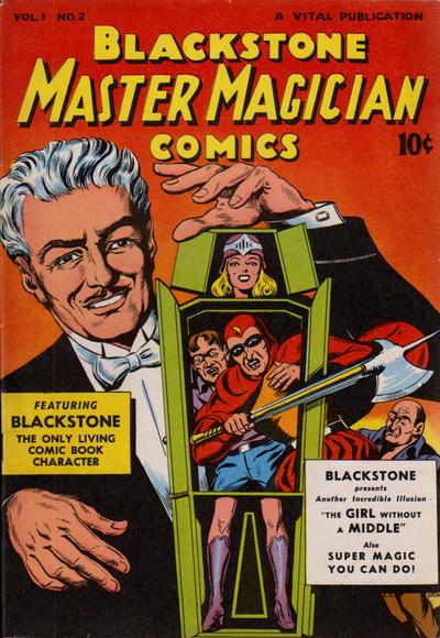 Cover for Blackstone Master Magician Comics (Vital Publications, 1946 series) #2