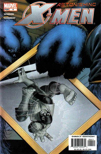 Cover for Astonishing X-Men (Marvel, 2004 series) #4 [Colossus Cover]