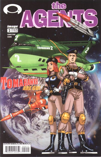 Cover for The Agents (Image, 2003 series) #2