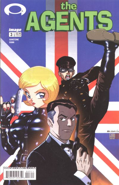 Cover for The Agents (Image, 2003 series) #3