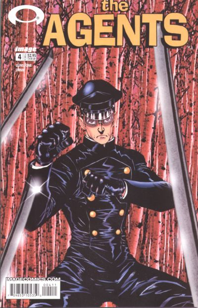 Cover for The Agents (Image, 2003 series) #4