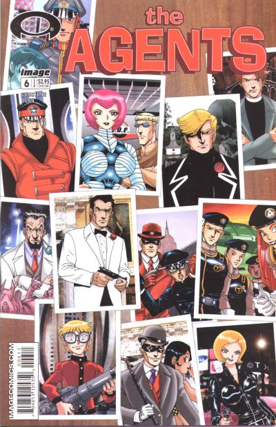 Cover for The Agents (Image, 2003 series) #6