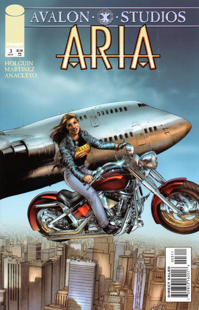 Cover for Aria (Image, 1999 series) #3