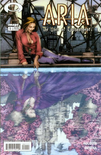 Cover for ARIA: The Uses of Enchantment (Image, 2003 series) #1