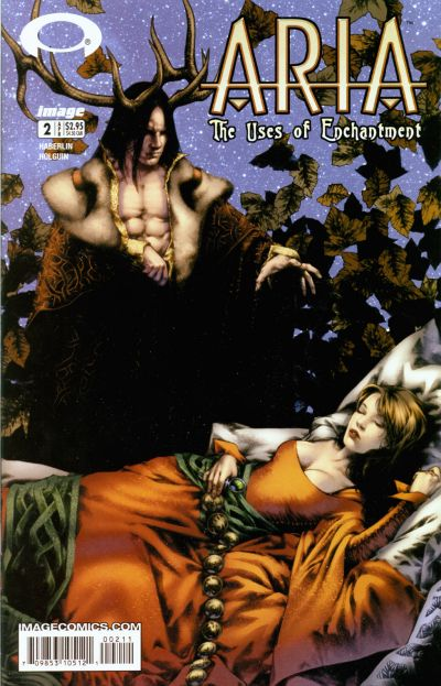 Cover for ARIA: The Uses of Enchantment (Image, 2003 series) #2