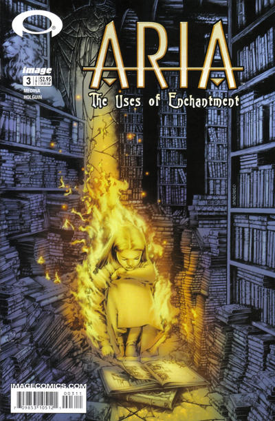 Cover for ARIA: The Uses of Enchantment (Image, 2003 series) #3