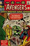 Cover for The Avengers (Marvel, 1963 series) #1 [Regular]