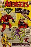 Cover for The Avengers (Marvel, 1963 series) #2 [Regular Edition]