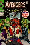 Cover for The Avengers (Marvel, 1963 series) #54