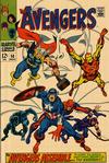 Cover for The Avengers (Marvel, 1963 series) #58