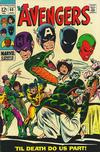 Cover for The Avengers (Marvel, 1963 series) #60