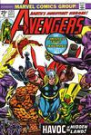 Cover for The Avengers (Marvel, 1963 series) #127
