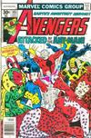 Cover Thumbnail for The Avengers (1963 series) #161 [30¢]