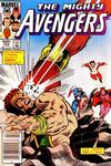 Cover Thumbnail for The Avengers (1963 series) #252 [Newsstand Edition]