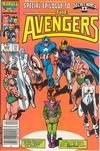 Cover Thumbnail for The Avengers (1963 series) #266 [Newsstand Edition]