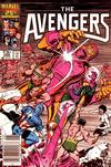 Cover Thumbnail for The Avengers (1963 series) #268 [Newsstand Edition]